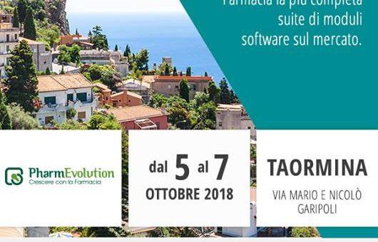 EVENTI – CSF Sistemi sarà presente al PharmEvolution a Taormina dal 5 al 7 Ottobre 2018